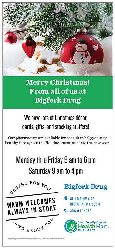 Bigfork Senior News - Dec. 2017