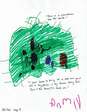 DEAR SANTA...From Yellow Bridge Learning Center preschool