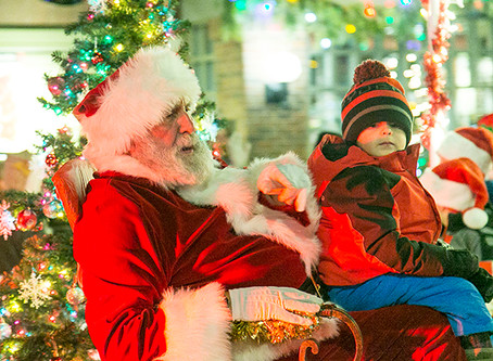 CHRISTMAS EVENTS: Get off the couch!