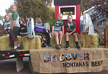 Swan River 4H kids clean up this summer