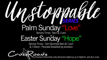 Bigfork area Easter Week Services
