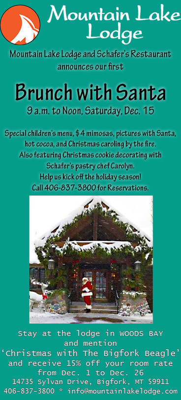 Mountain Lake Lodge hosts Brunch With Santa