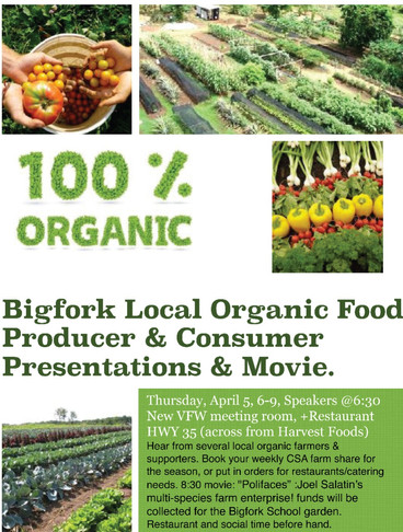 Bigfork: Eat Organically