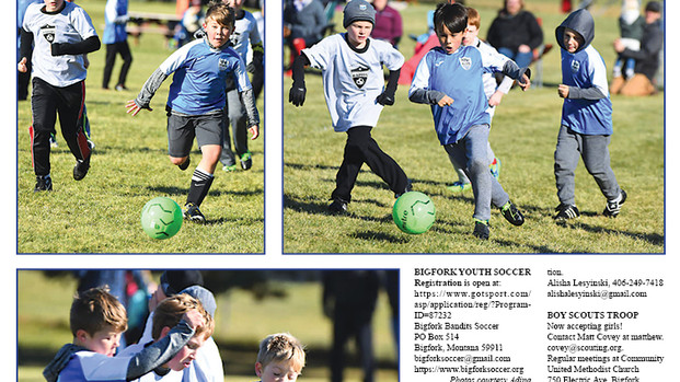ALL ABOUT US: Youth soccer, MOPS, Boy Scouts, AA