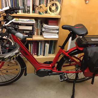 Praise Poem to My E-Bike in Limericks