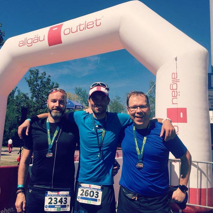 Finisher beim Allgäu Marathon (HM)_#run