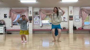 藤田まや YBS「ゴリラッパンダ」を踊ってみた。