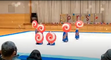HIZUMEBellyDance sports 1 発表会  助賛作品 『乱舞』
