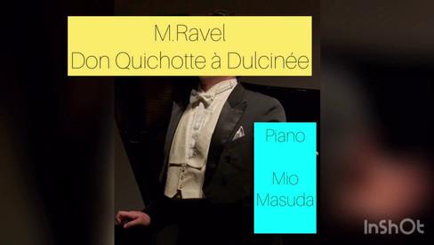奥秋大樹  M.Ravel《Don Quichotte à Dulcinée》