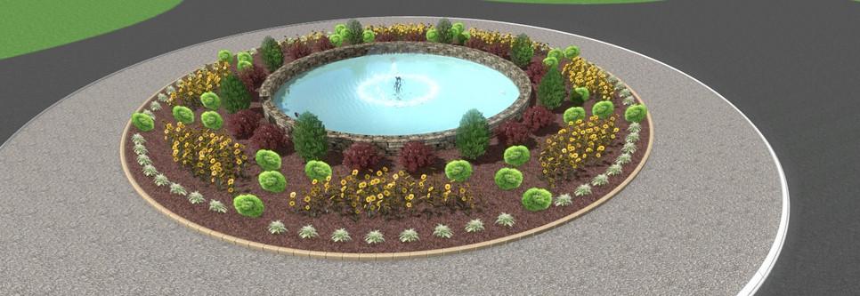 Falcon Pointe Fountain 1