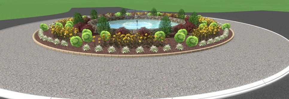Falcon Pointe Fountain 2