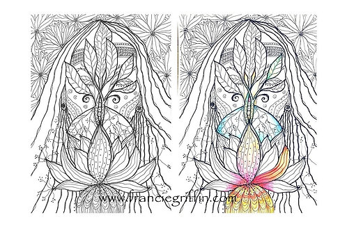 Colouring Page ~ Tree of Life