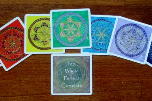 Sacred Seed Chakra Affirmation Cards