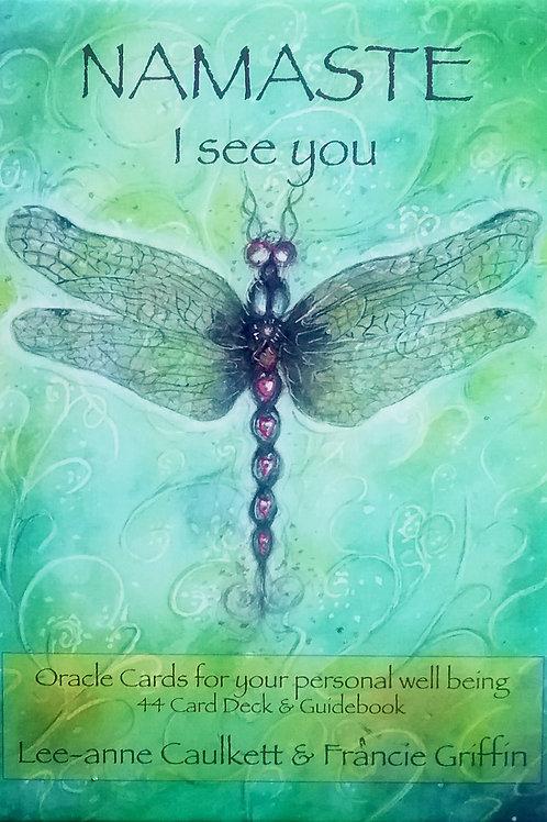 Namaste I See You Oracle Cards