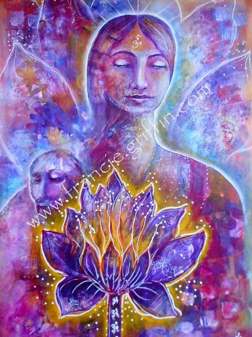 Sahasrara Lotus Goddess