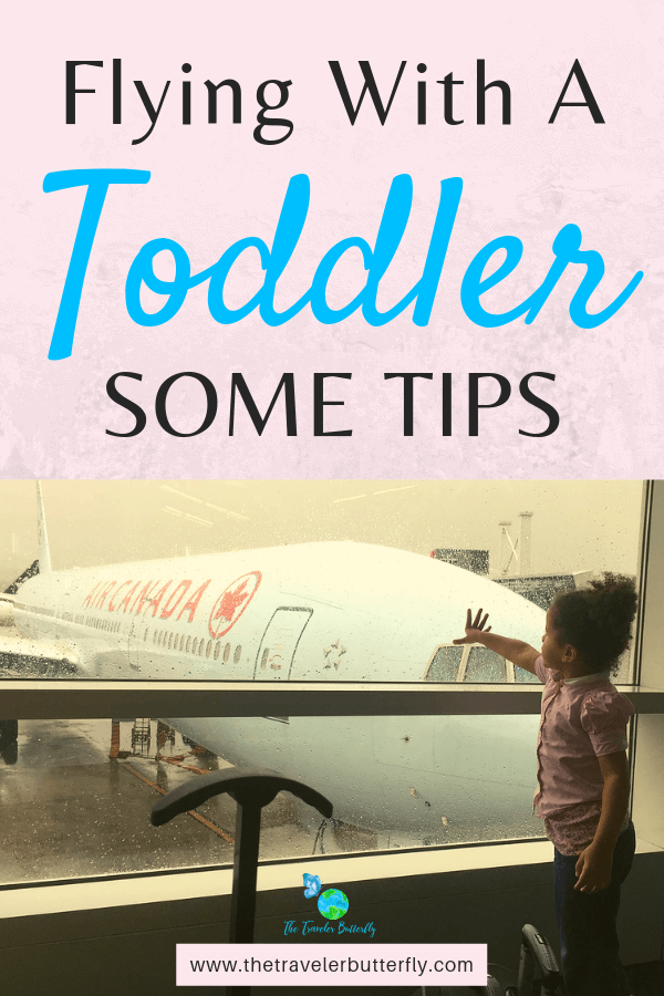 Flying With A Toddler -Some Tips..