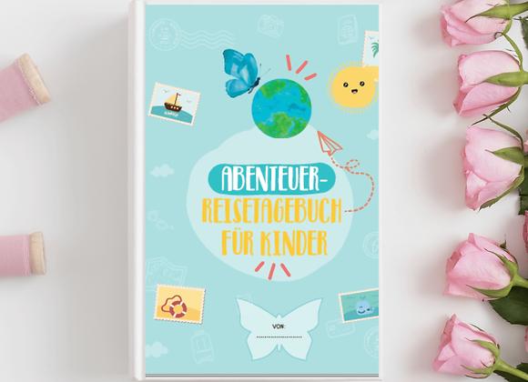 Abenteuer Reisetagebuch für Kinder