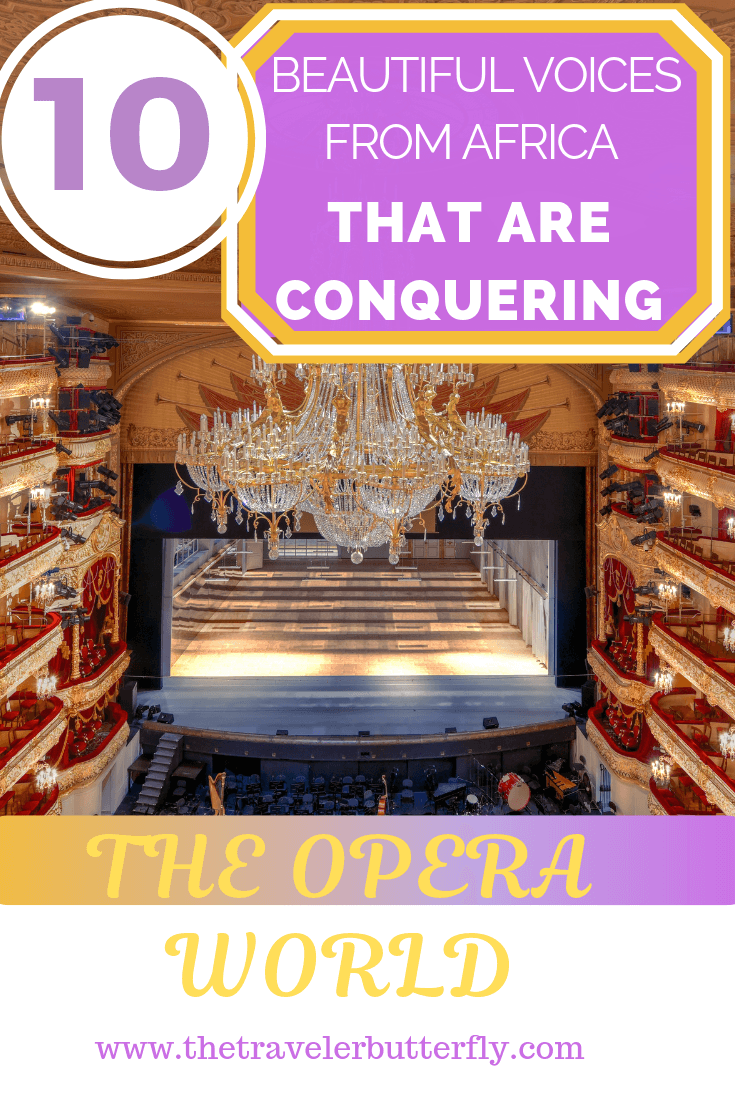 10 beautiful voices from Africa that are conquering the Opera World