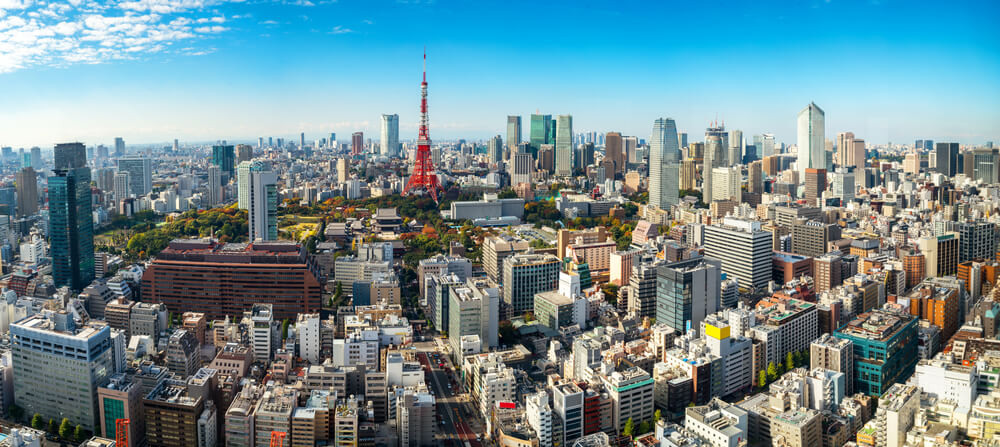 Paronamic view of Tokyo.One of our favourite city in the world