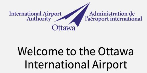 welcome to the ottawa international airport