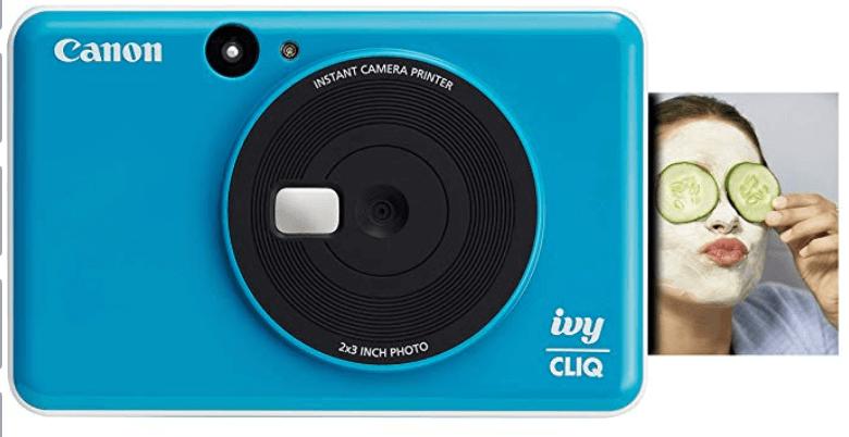 Canon IVY CLIQ Instant Camera Printer.