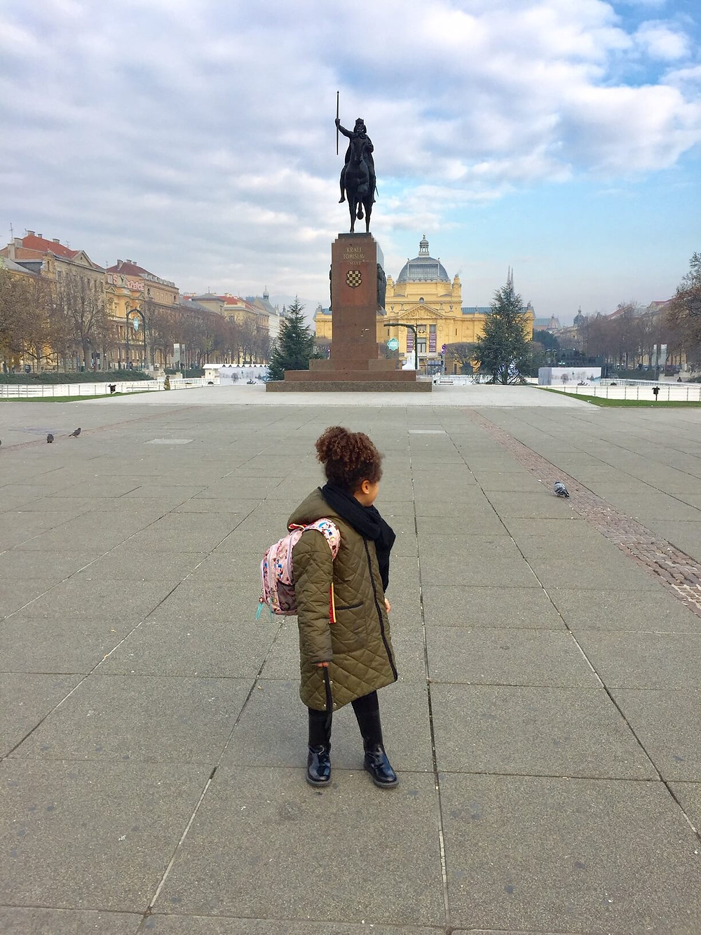 Loreva@ King Tomislav Square.Check out our instagram post to learn more about this square :)