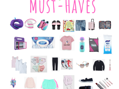 My Toddler Carry On Must - haves