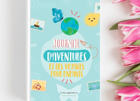 Journal d'aventures et de voyages pour enfants