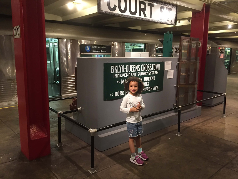 NYC Transit Museum with Kids