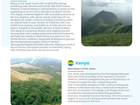 Part 2-Africa UNESCO World Heritage Sites