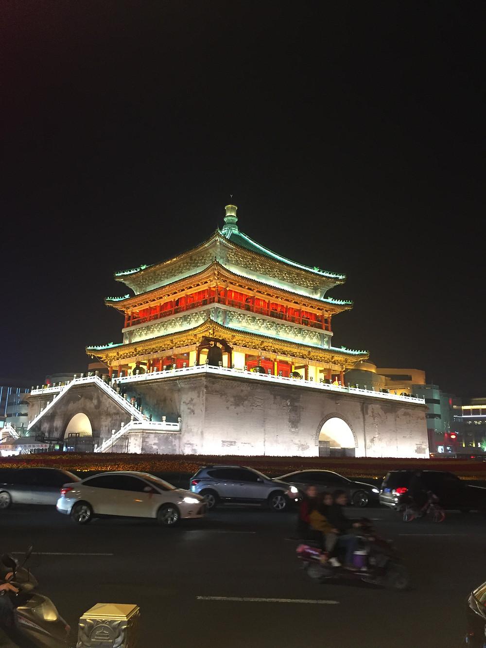 Xian's Drum Tower (Gulou)