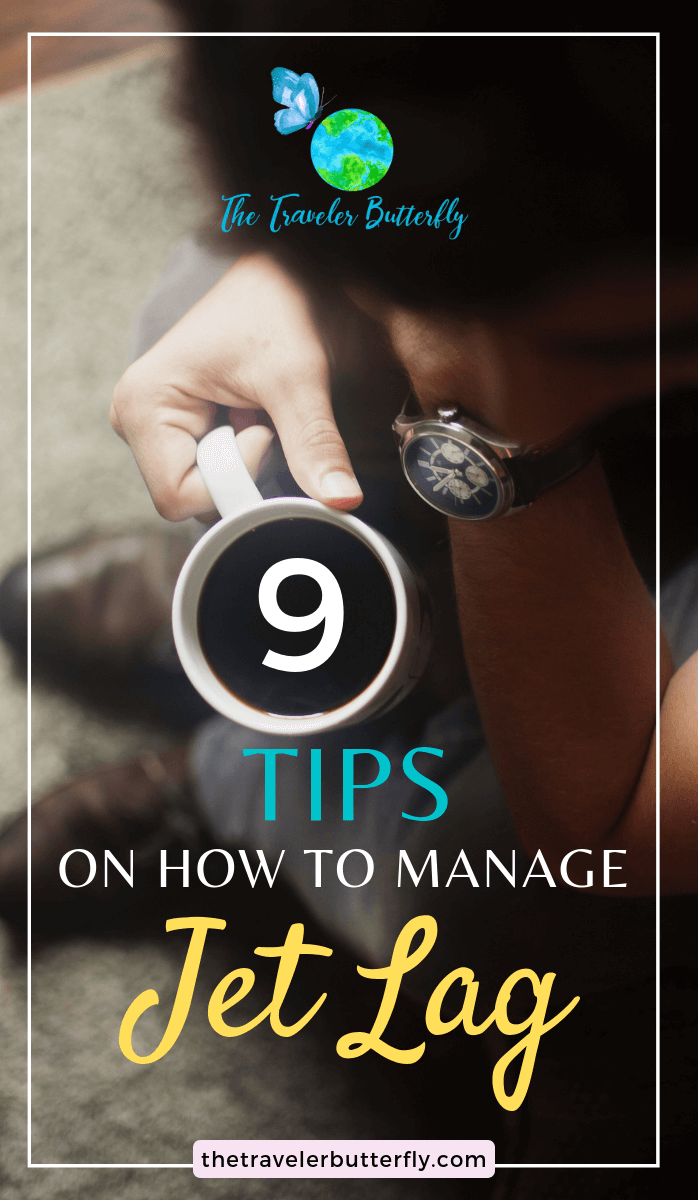 tips to manage jet lag