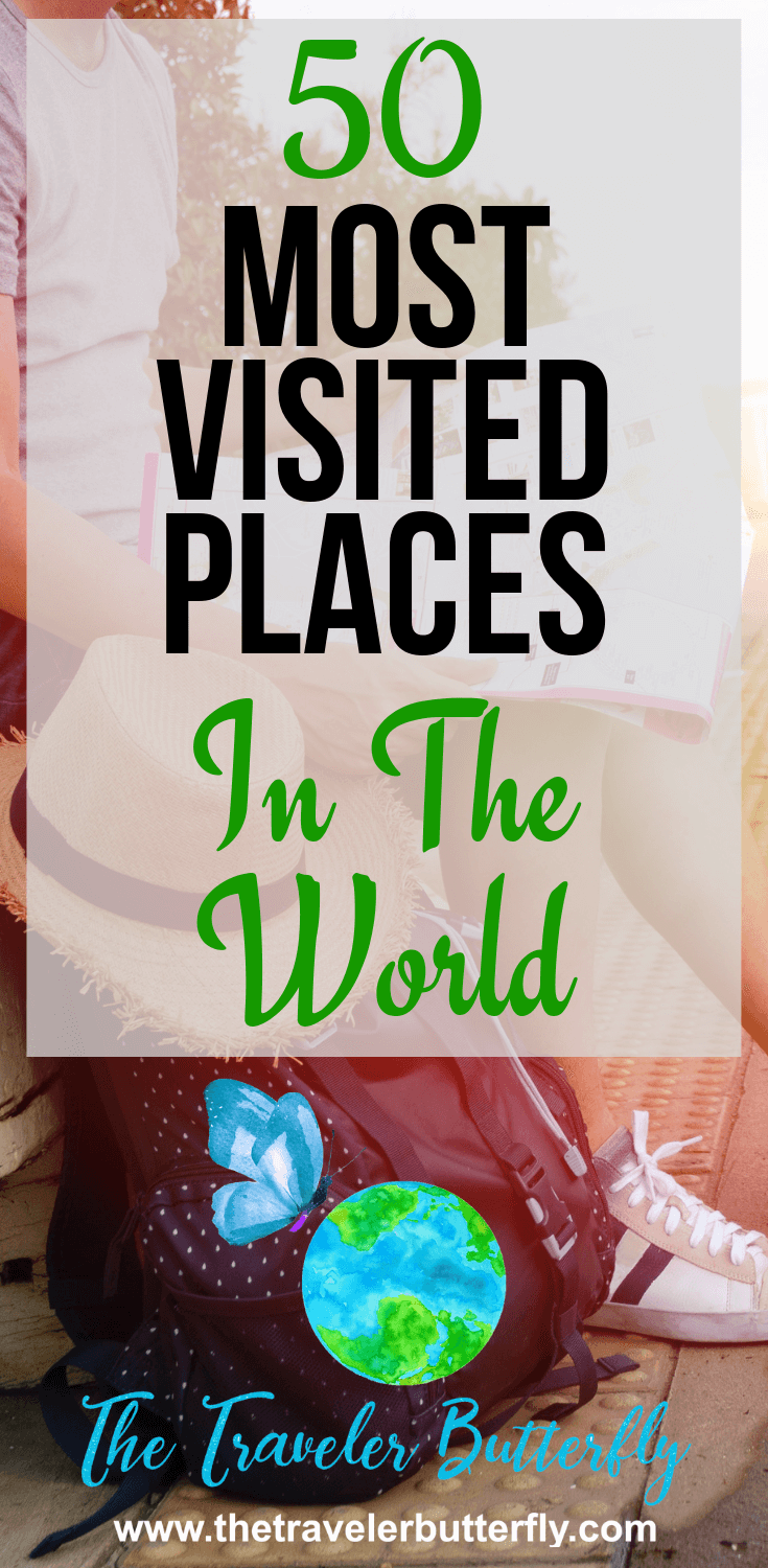 50 most visited places