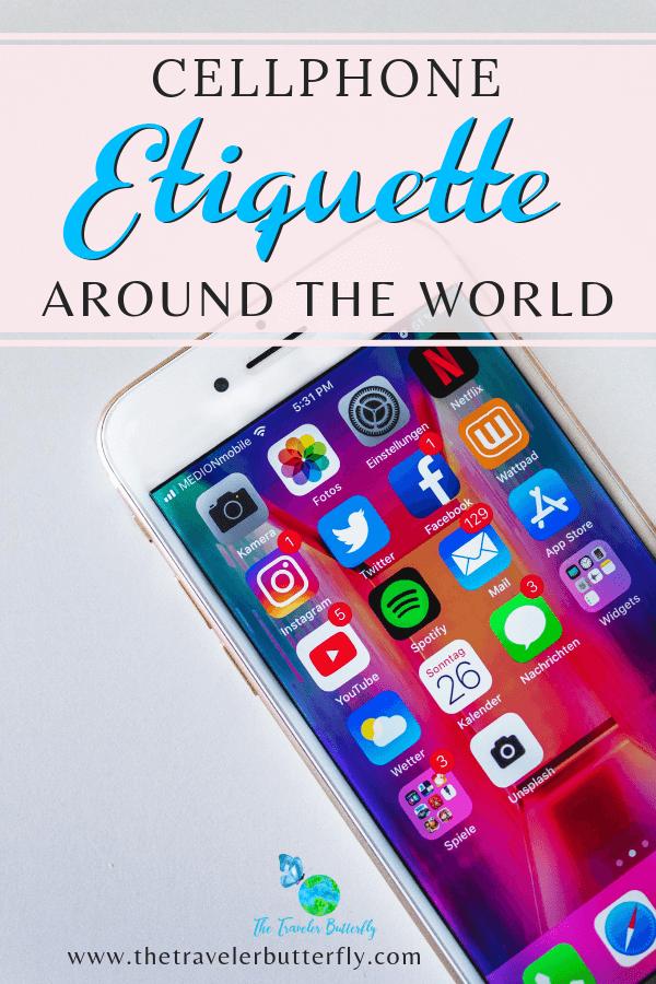cellphone etiguette around the world