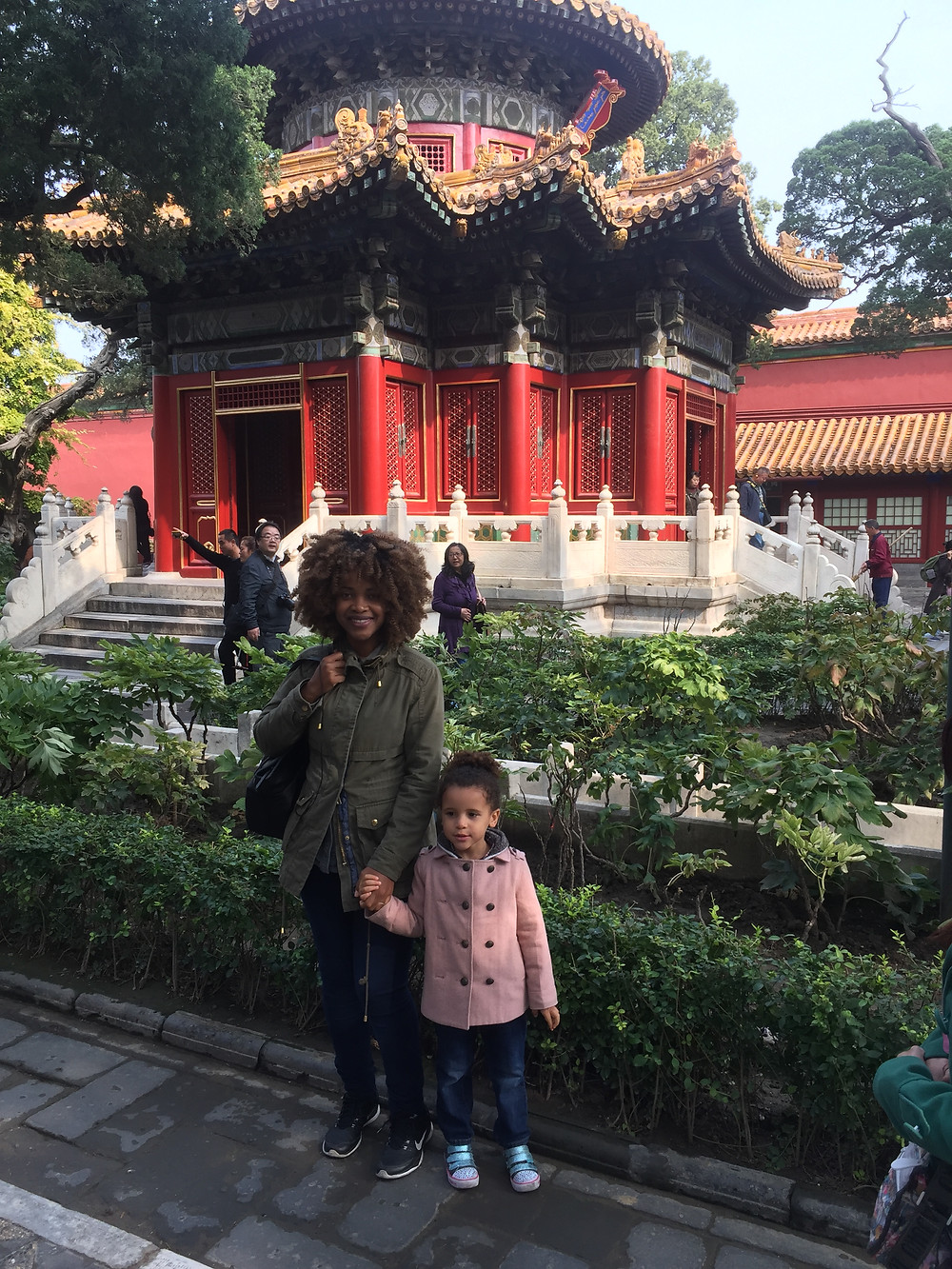 At the Imperial Garden