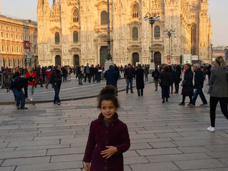 MILAN - THE CITY OF FASHION WELCOMES FAMILIES WITH KIDS