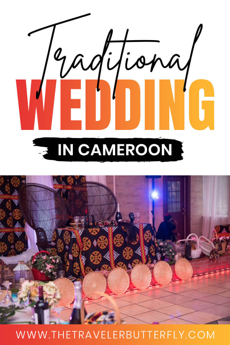 traditional wedding in cameroon