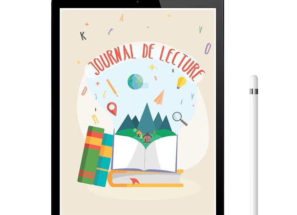Journal de lecture -Pour les enfants