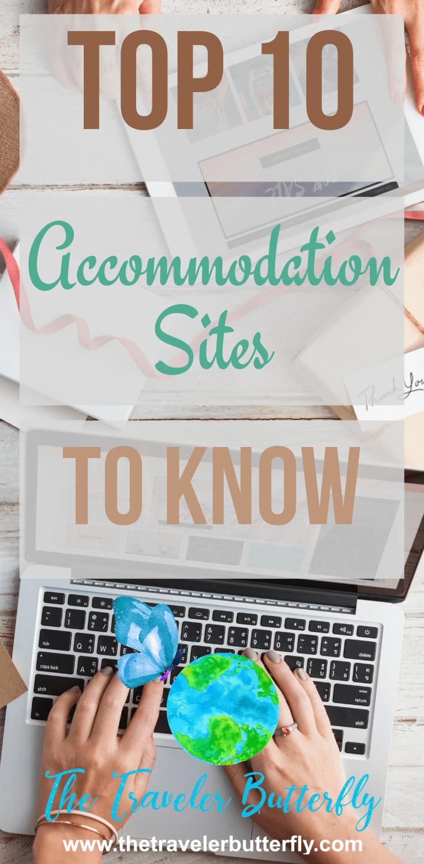 top 10 accomodation sites