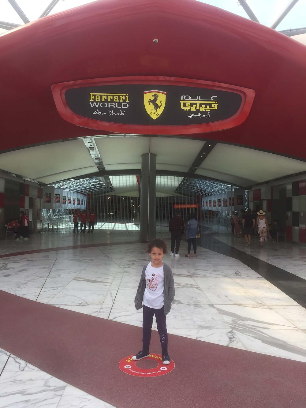 Ferrari World for the love of Ferrari!