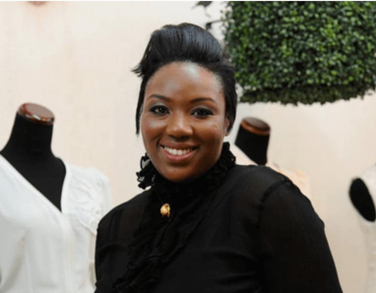 Fashion designer Mimi Plange from Ghana