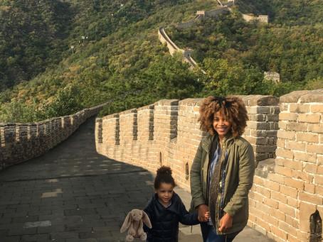 At the Great Wall  长城