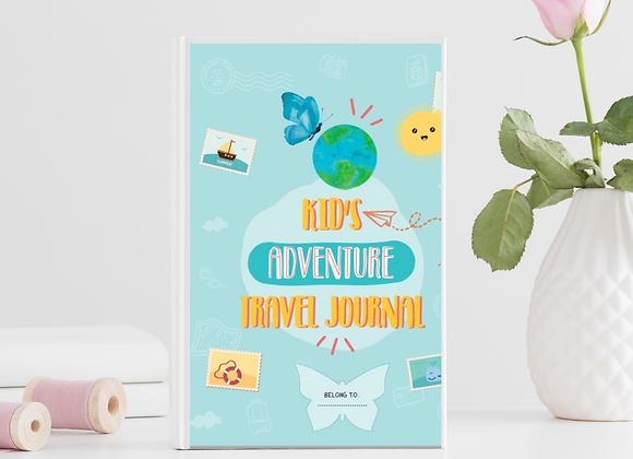 Travel Journal for Kids - Kids Adventure Journal