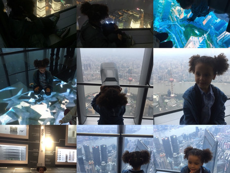 At the Shanghai Tower