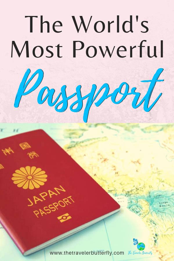 World Most Powerful Passport