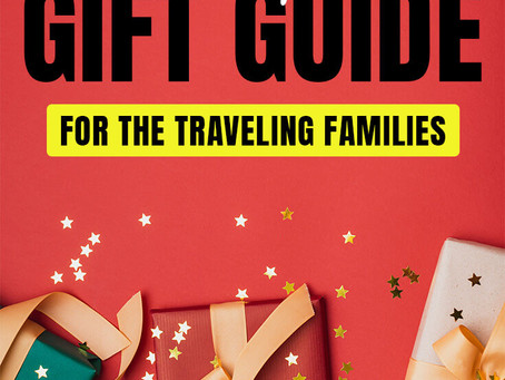 2019 Christmas Gifts for Traveling families
