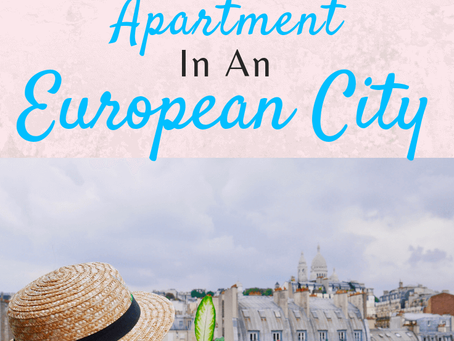 Traveling Families Short Term Apartment in Europe