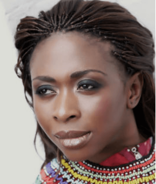 Fashion designer Anrette Ngafor from Cameroon