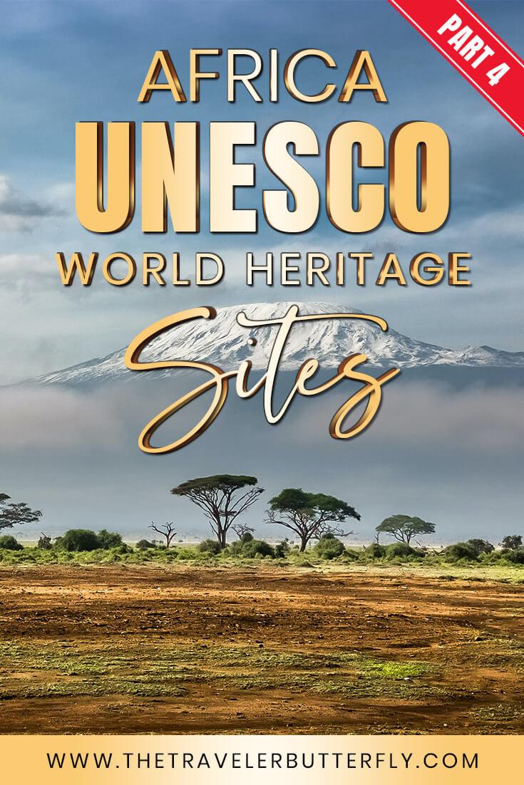 Africa UNESCO world heritage sites