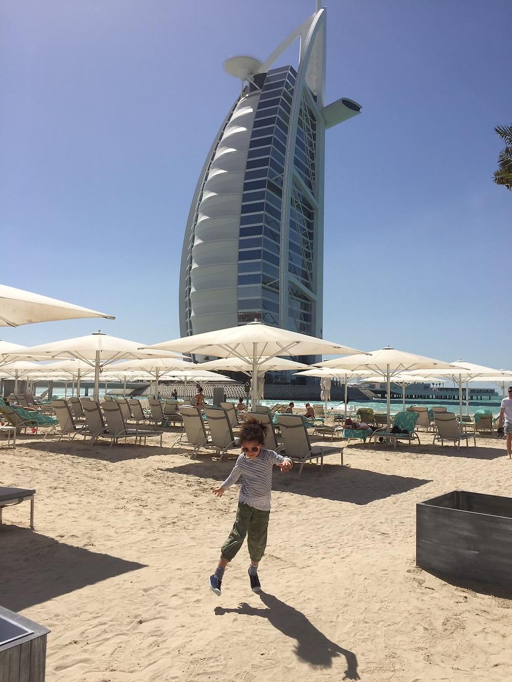 Fun time at Burj Al Arab